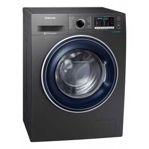 Samsung Washing Machine 8 KG 1400 Spin With Eco Bubble Technology Silver WW80J5455FX1AS