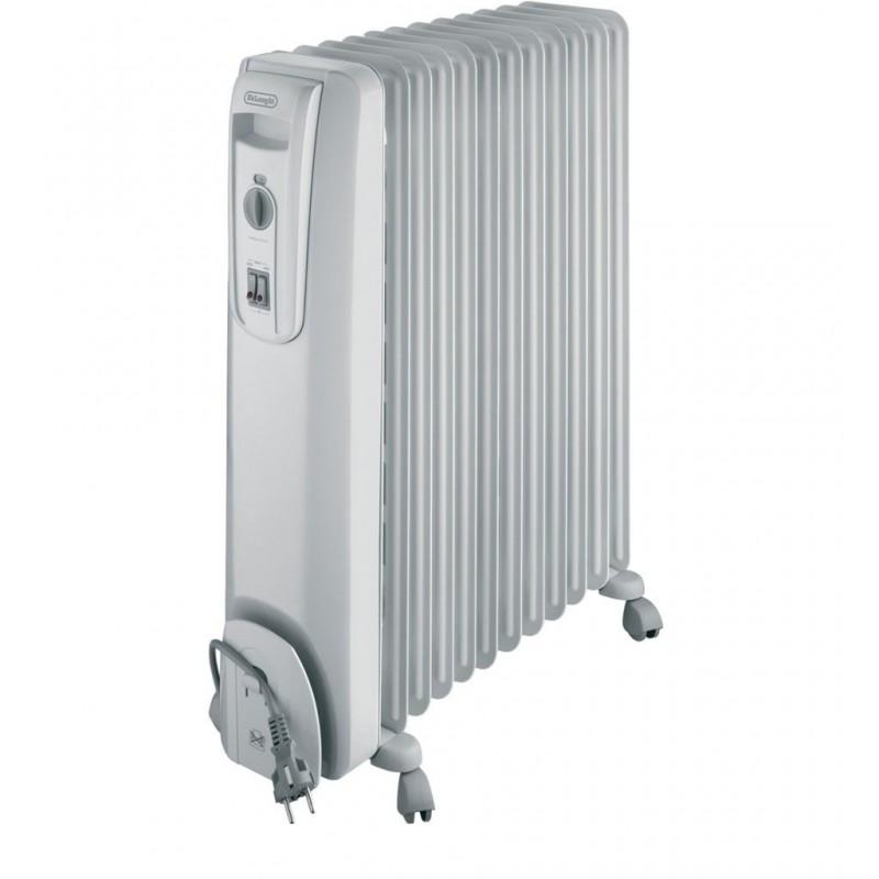 delonghi oil filled electric radiator heater 12 fins kh. Black Bedroom Furniture Sets. Home Design Ideas