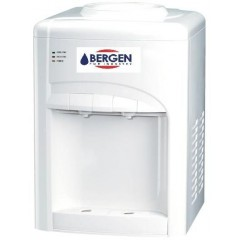 Bergen Desktop Water Dispenser 2 Taps Cold/Hot White BY T5 White