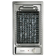 Elba Electric Barbecue 30cm Stainless Steel E30-700X