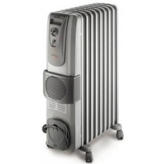 DelonghI Oil Radiator/Heater 7 Fins: KH770720V