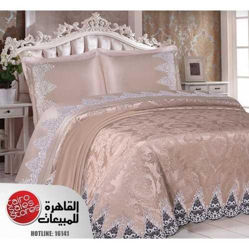 ALFATTAL Bedspread Jacquard Size 240cm*250 Set 6 Pieces Berna-60
