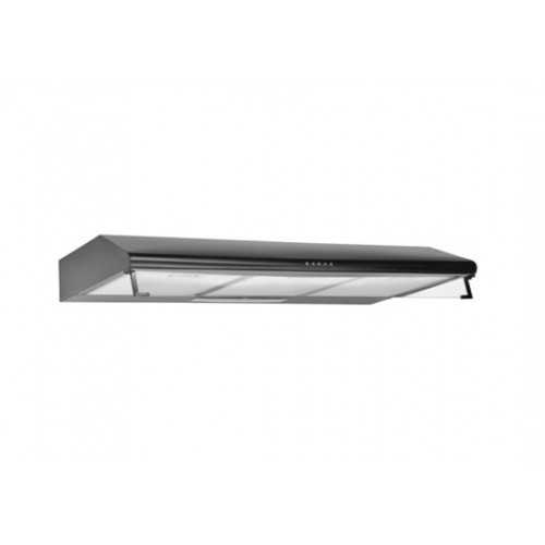 Ecomatic Flat Hood 90cm 500 m3/h 2 Motor Stainless H95SL