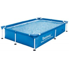 Bestway Swimming Pool 13177 Lt Family Rectangular Frame: 56390