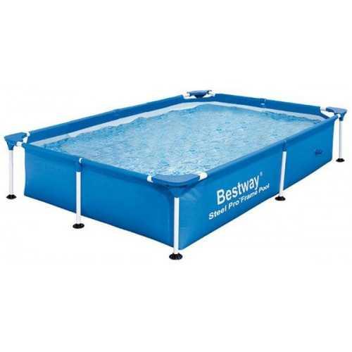 Bestway Swimming Pool 13177 Lt Family Rectangular Frame: 56390