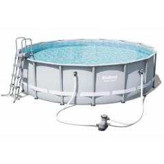 Bestway Swimming Pool With Filter Pump Circular BS-56451
