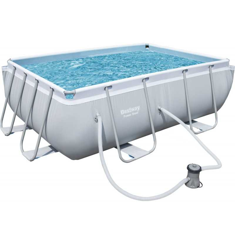 Bestway Swimming Pool 3662Lt Family Rectangular Frame BS-56629