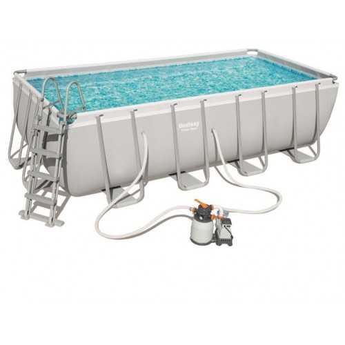 Bestway Swimming Family Rectangular Frame 11532 liter Filter BS-56441