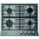 Ecomatic Built-In Hob 60 cm 4 Gas Burners Stainless S603OMB