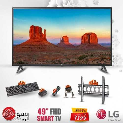 "LG 49"" SMART LED FULL HD 1080p TV with Built-in Receiver And Gifts 49LK5730"