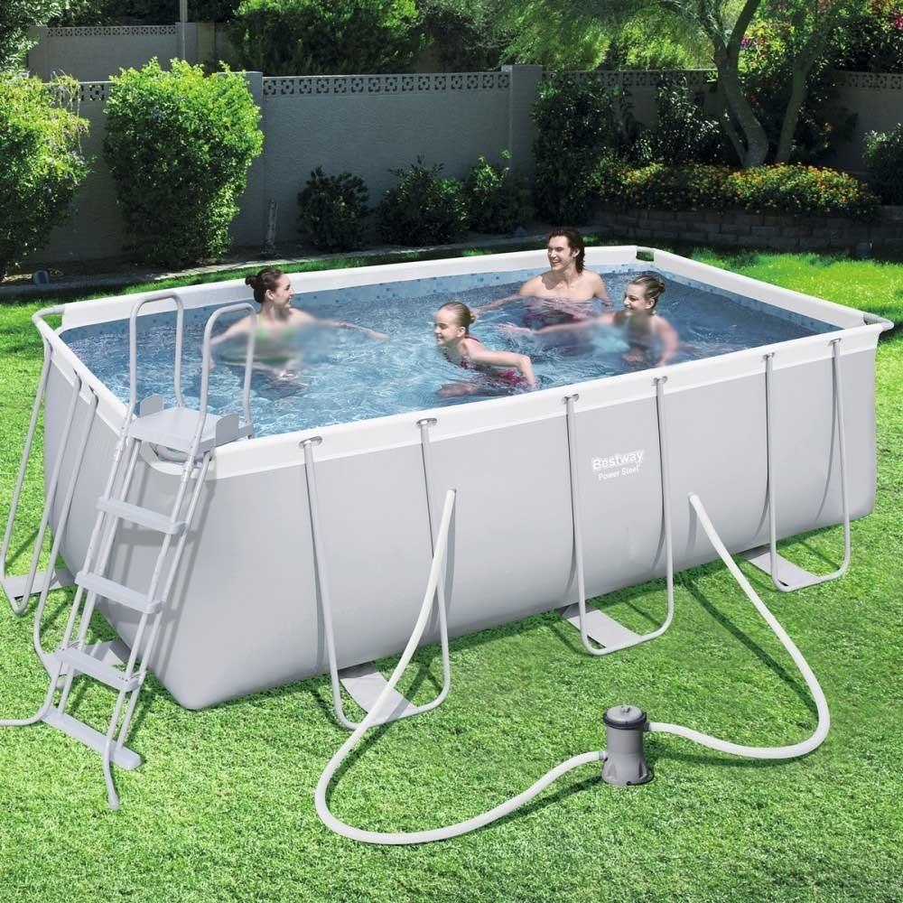 Bestway Swimming Pool 8124 Liter Rectangular BS-56456 Prices ...