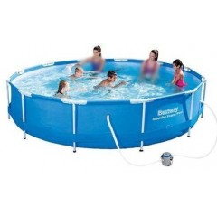 bestway-swimming-pool-circular-steel-pro-frame-6473-liter-with-filter-56416
