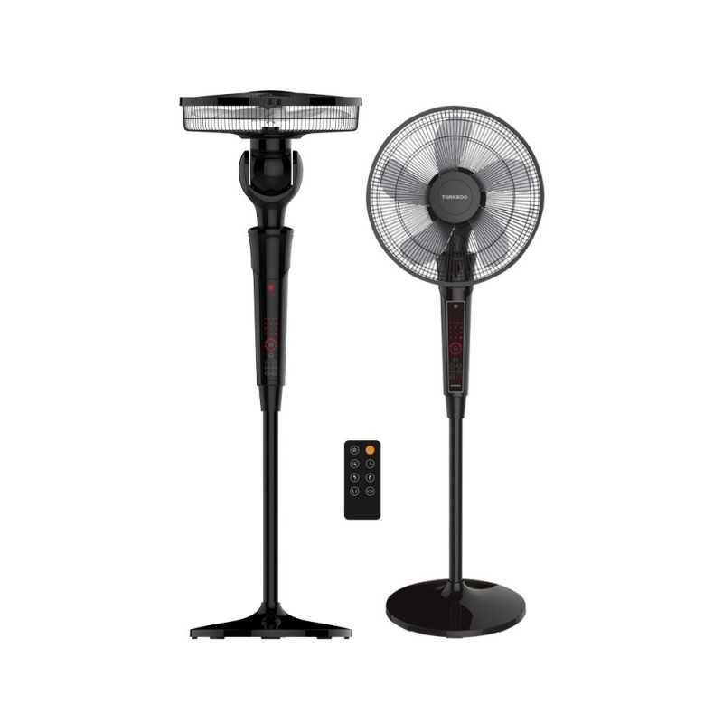 Tornado Stand Fan 16 Inch 5 Plastic Blades With Remote Control EFS