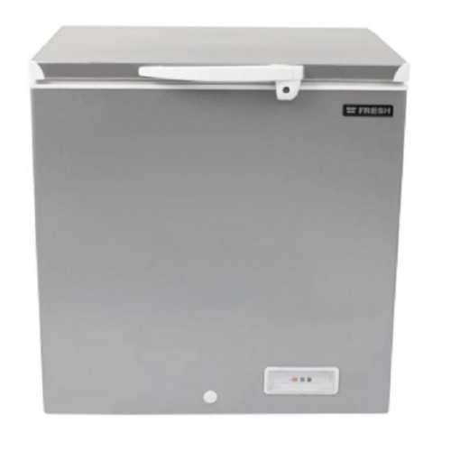 FRESH De-Frost Chest Freezer 130 Liter Silver FDF 130F-7433