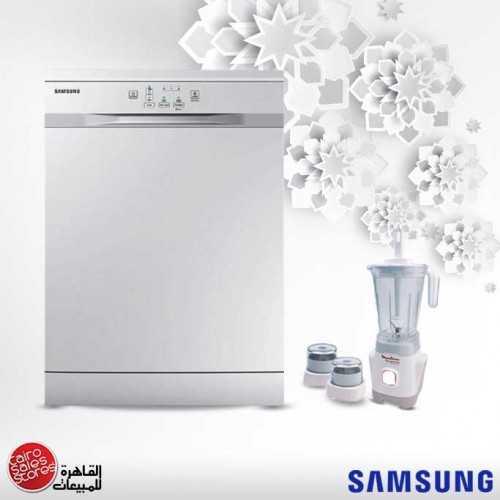 Samsung Dishwasher 12 Person White and Moulinex Blender 400W MD DISH Bundle7