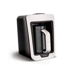 تورنيدو صانع قهوة تركي أوتوماتيك مزود بنظام للحماية 735 وات 330 ابيض × أسود TCME-100 W
