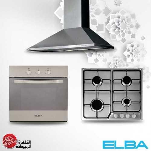 Elba Built-In Hob 60 cm 4 Gas Burners Stainless EF60-401X