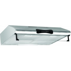 Ecomatic Flat Hood 90cm 500 m3/h 2 Motors Stainless H95F