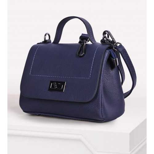 ART Mini Satchel PU Leather Blue Color ABL-1405