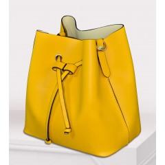 ART Shoulder Bag PU Leather Mustard ASM-1415