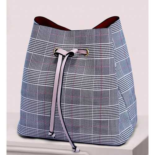 ART Shoulder Bag PU Leather Multi Color with Pink Hand ASMCP-1415