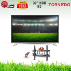 TORNADO LED TV 32 Inch HD 768P and Gifts 32EL8250E