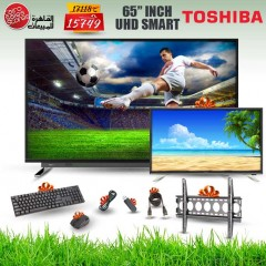 TOSHIBA TV Ultra HD 4K Smart 65 Inch Android and Gifts 65U7750VE
