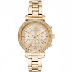 MICHAEL KORS Sofie Women's Watch Quartz Stainless Steel Gold MK6559