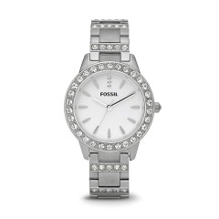 FOSSIL Women's Jesse Stainless Steel Glitz Dress Quartz Watch Jesse Stainless Steel Glitz Dress Quartz Watch ES2362
