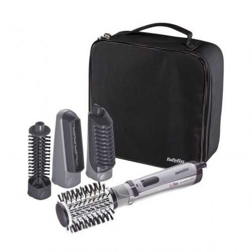 Babyliss Brushing Rotating Brush 1000 Watts with 4 attachments and bag 2735E