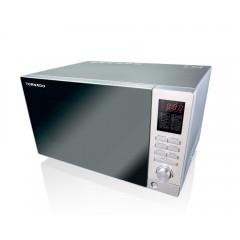 TORNADO Microwave 25 Litre 900 Watt With Grill Silver MOM-C25BBE-S