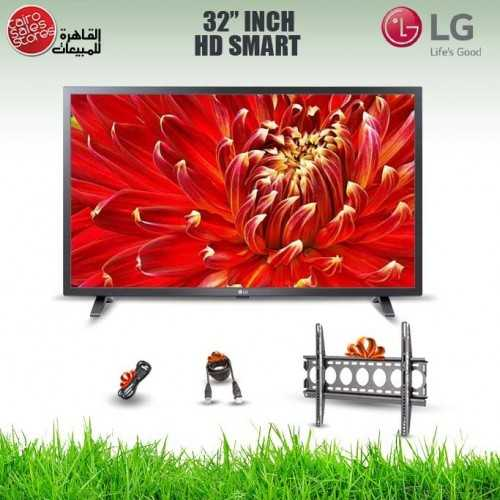 LG TV 32 Inch LED HD 768*1366p With Built-in HD Receiver Smart and Gifts 32LM630BPVB