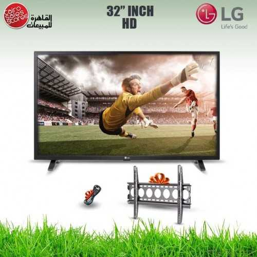 LG TV 32 Inch LED HD 768*1366p With Built-in HD Receiver and Gifts 32LM550BPVA