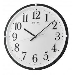 SEIKO Wall Clock Plastic Frame Black QXA931K