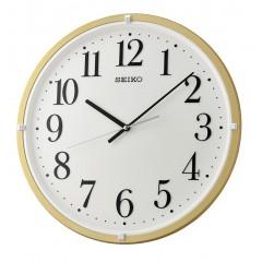 SEIKO Wall Clock Plastic Frame Beige QXA931G