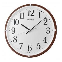 SEIKO Wall Clock Plastic Frame Brown QXA931B