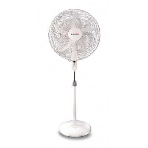 Daewoo Stand Fan 20 Inch 5 Plastic Blades White DF50-12SP