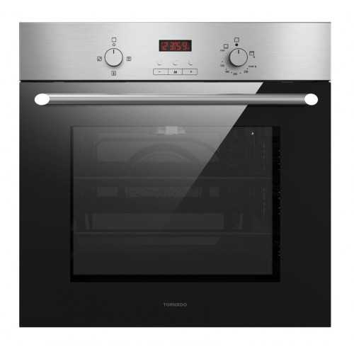TORNADO Built-in Gas Oven 60 cm 67 Litre In with Convection Fan Stainless Steel GO-VD60CSU-S