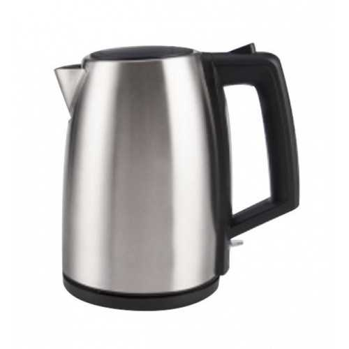 TORNADO Stainless Steel Kettle 1.7 Liter 1850-2200 Watt In Silver TKS-2117