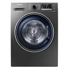 Samsung Washing Machine 9 KG EcoBubble 1400 RPM Silver WW90J5455FX1AS