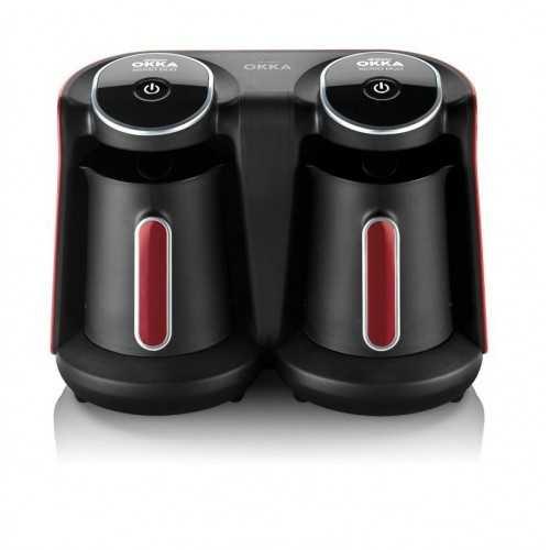 Arzum Okka Minio Duo Automatic Turkish Coffee Machine Red x Black ok006R