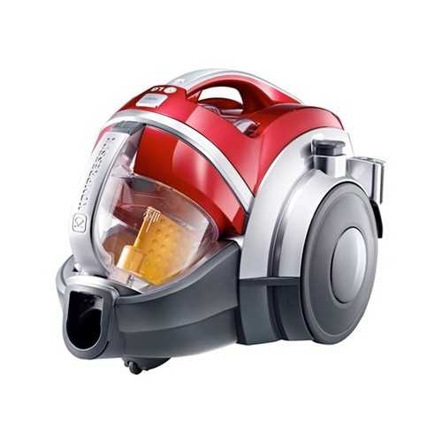 LG Vacuum Cleaner 2000 Watt Bagless Aluminium Telescopic Pipe: VK7320NHAR