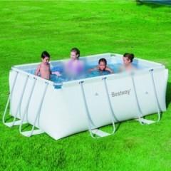 Bestway Swimming Pool 4964 Liter Rectangular Frame Pool: 56248