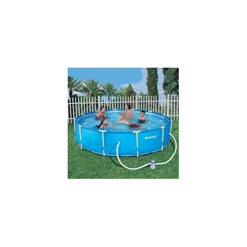 Bestway swimming pool 9150 liter with filter pump circular - How many litres in a swimming pool ...