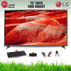 LG TV 75 Inch LED UHD 3840*2160p Smart With Built-in Receiver 75UM7580PVA