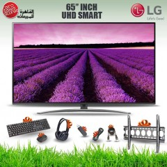 LG TV 65 Inch LED Super UHD 4K 3840*2160p Smart With Built-in Receiver 65SM8100PVA