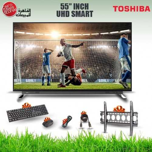 TOSHIBA TV Ultra HD 4K Smart 55 Inch Android 55U7750VE