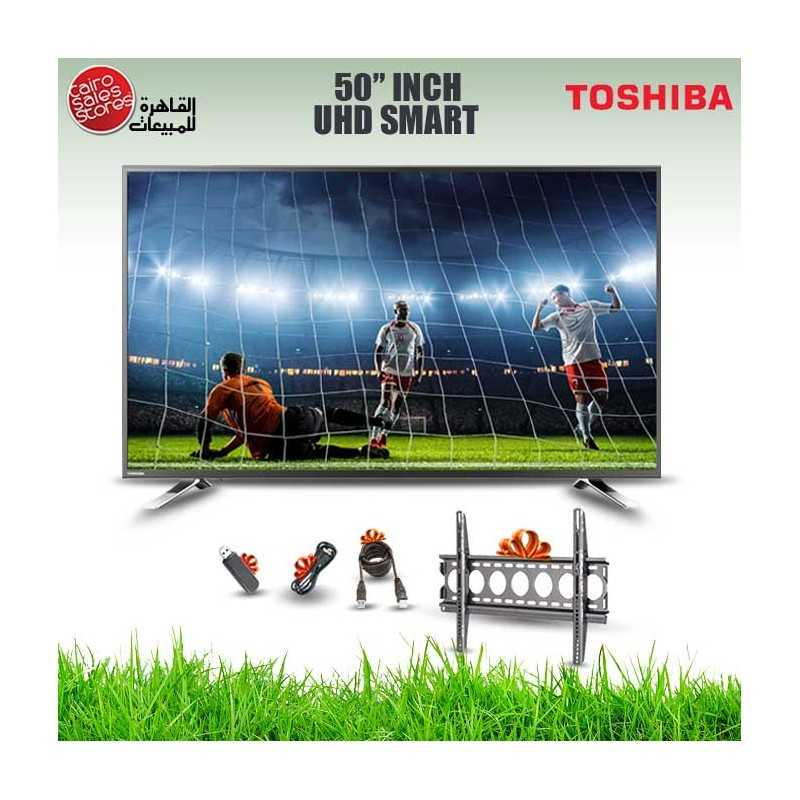 Toshiba TV LED 4K Smart 50 Inch With Built In Receiver 50U5865EA