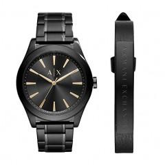 أرماني إكستشانج ساعة رجالي لون اسود كرونوجراف AX7102