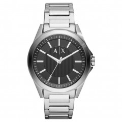 أرماني إكستشانج ديكسير ساعة رجالي معدن لون سيلفر AX2618